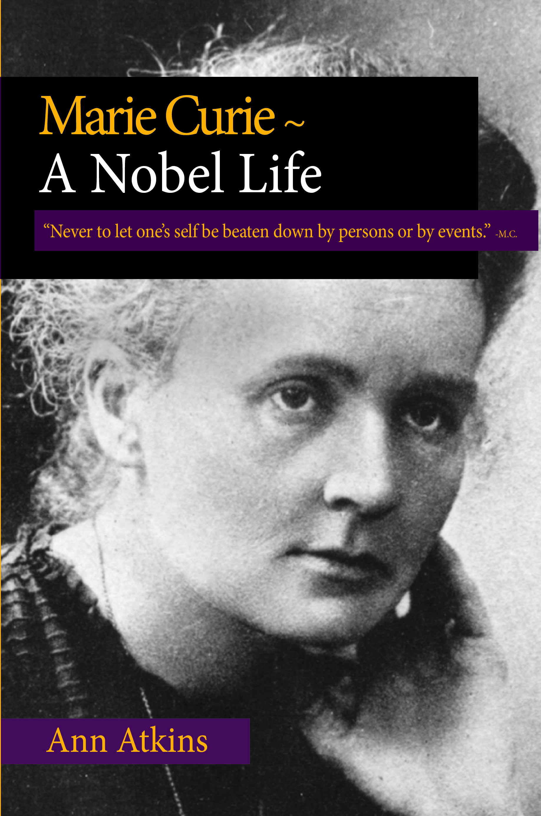 small Marie Curie cover